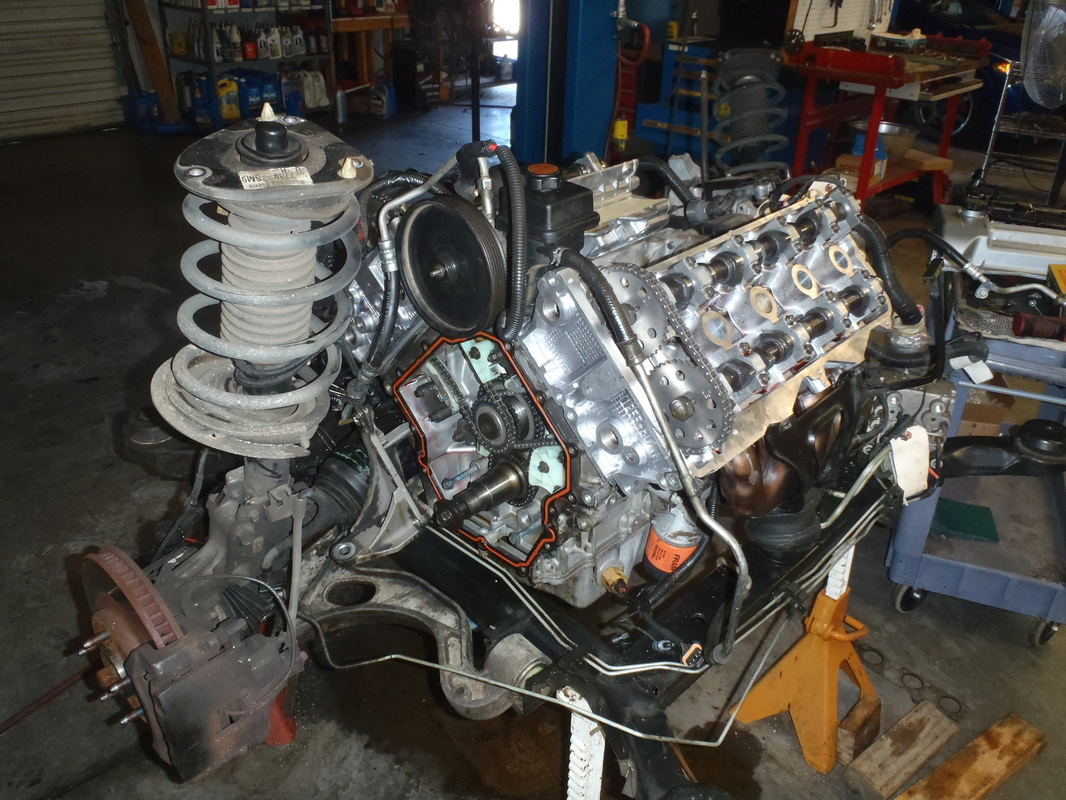 Orig on Cadillac Northstar V8 Engine
